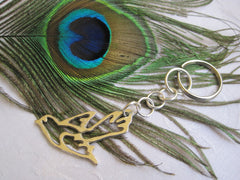 Bird of Peace Key Chain