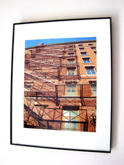 Fire Escapes - Photography - Home Decor