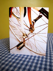 Card - Vintage Tricycle