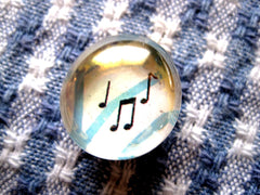 Musical Note Fridge Magnet