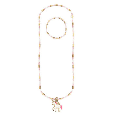 Magic Unicorn Necklace and Bracelet Set
