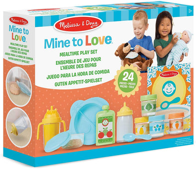 Melissa and Doug - Mine to Love Mealtime Play Set