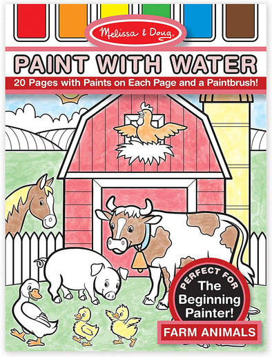 Melissa and Doug - Paint with Water Farm Animals