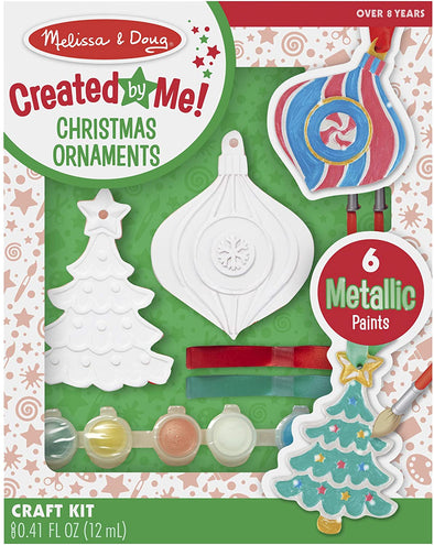 Melissa and Doug - Created by Me Christmas Ornament