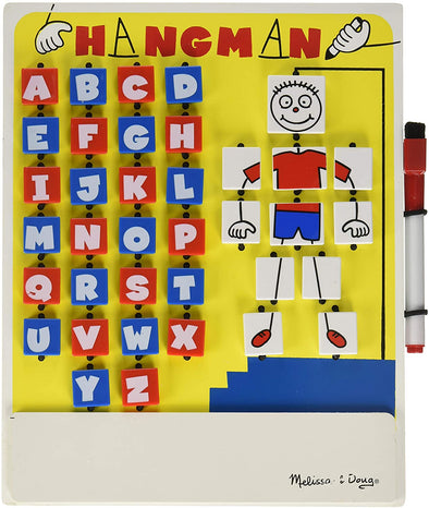 Melissa and Doug Flip-to-Win Hangman Travel Game