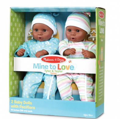 Melissa & Doug - Mine to Love Twins