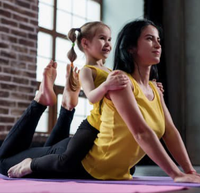 Mom & Baby Yoga drop-in Nov 4- 11:15am