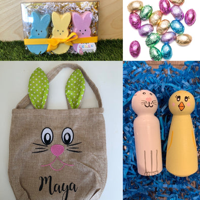 PAL Easter bags supporting local businesses.