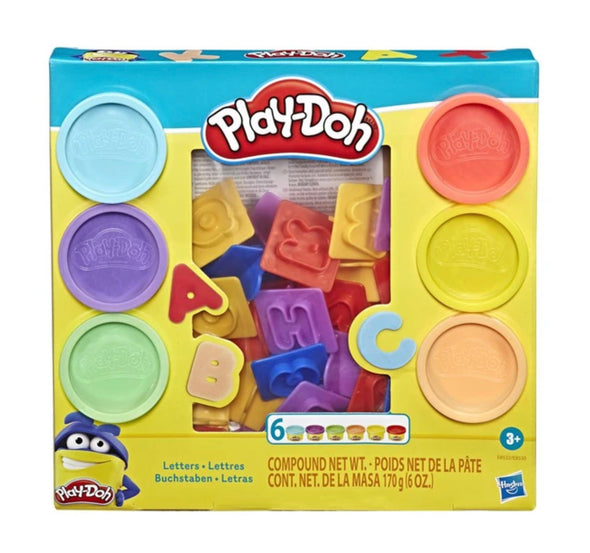 Play Doh Letters