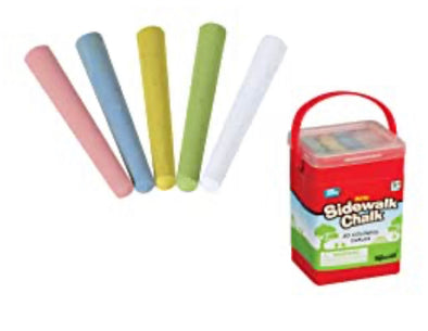 Mini Sidewalk Chalk- 20 piece