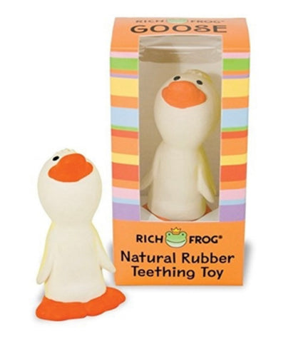Rich Frog Natural Rubber Teething Toy