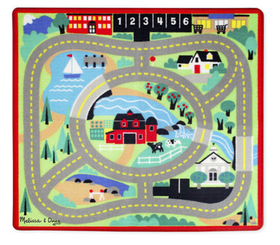 Melissa and Doug - Around the Town Road Rug