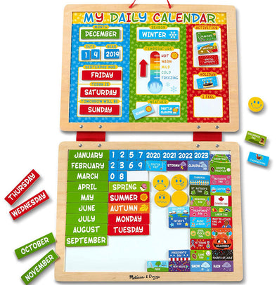 Melissa and Doug - Magnetic Daily Calendar