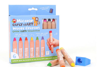 Early Start Wooden Crayons