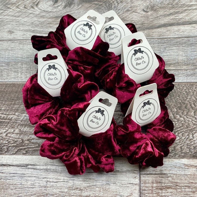 Chlo Zo Bow Co Scrunchies