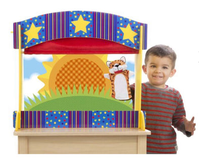 Preorder- Melissa and Doug- Puppet Theatre Table Top