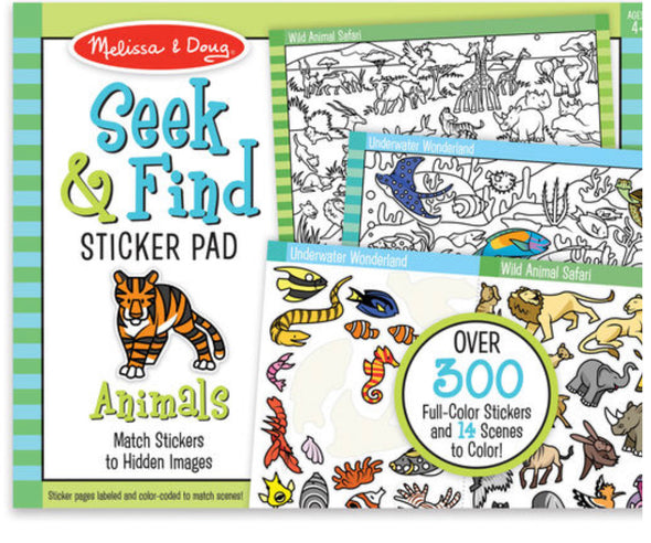 Melissa and Doug Seek and Find Pad
