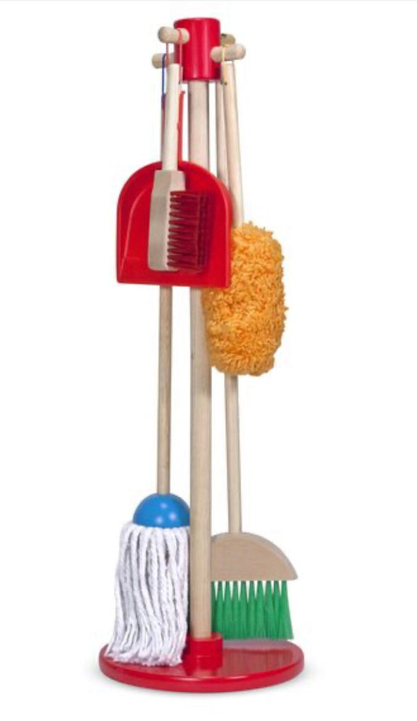 Preorder- Melissa and Doug - Lets Play House - Dust! Mop! Sweep!