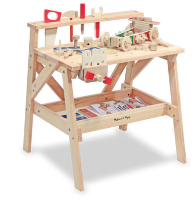 Preorder- Melissa and Doug- Wooden Work Bench