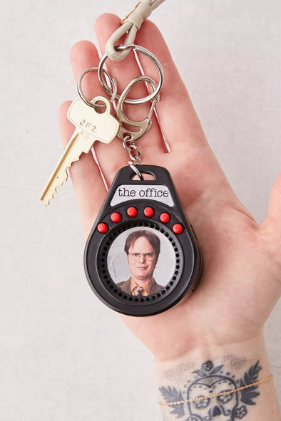 World's Coolest Office keychain- talking Dwight