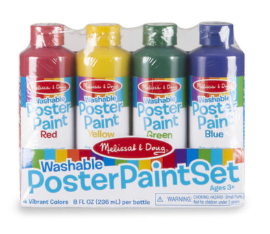 Melissa and Doug- Poster Paint Set