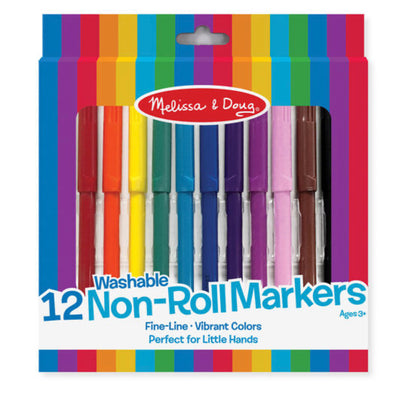 Melissa and Doug Non- Roll Markers
