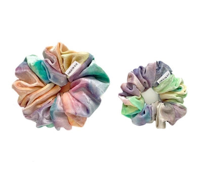Bungalow Blue Scrunchies