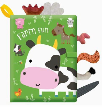 Farm Fun Cloth Book