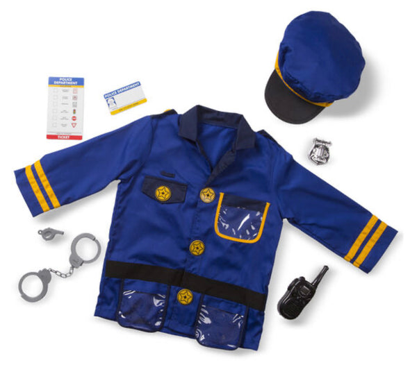 Preorder- Melissa and Doug - Police Role Play Set