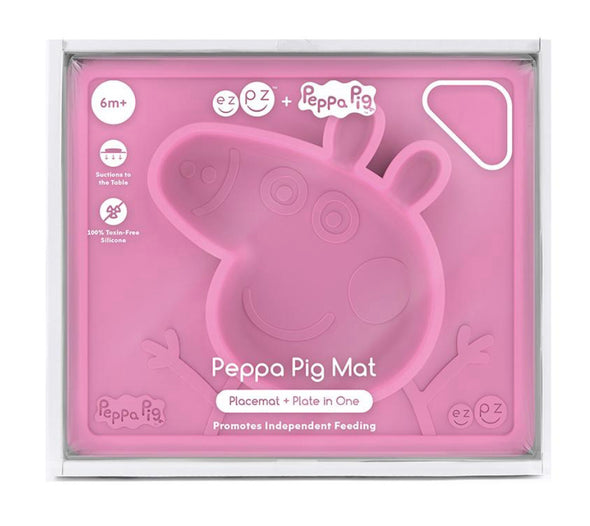 EZPZ Limited Edition Peppa Mat