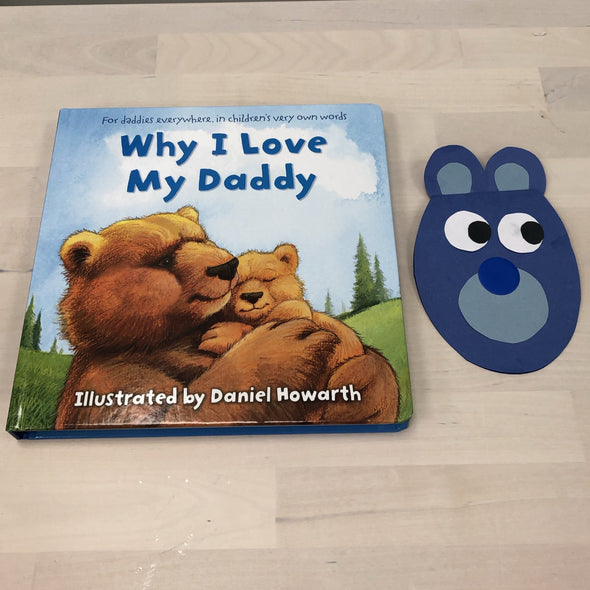 Fathers Day Book and craft combo