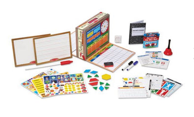 Preorder- Melissa and Doug- School time Classroom Play Set