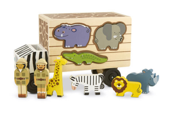 Melissa and Doug Safari Animal Rescue Truck