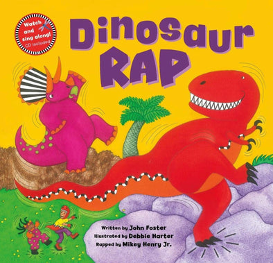 Dinosaur Rap Book- audio and video included