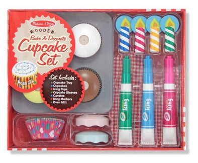 Melissa and Doug Cupcake Set