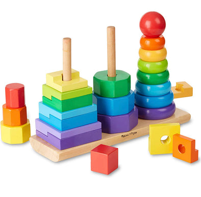 Melissa and Doug - Geometric Stacker