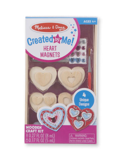Melissa and Doug heart magnets