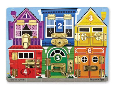 Melissa and Doug - Wooden Latches Board