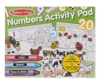 Melissa and Doug Learning Activity Pad
