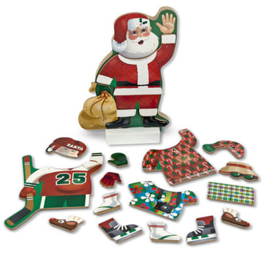 Preorder Melissa and Doug- Magnetic Pretend Play Santa