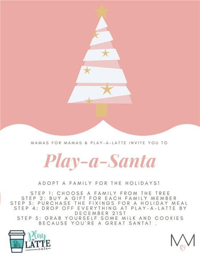 Mamas for mamas- Christmas adoption- Play-A-Santa