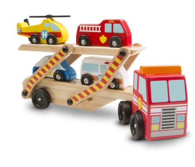Melissa and Doug- Emergency Vehicle Carrier