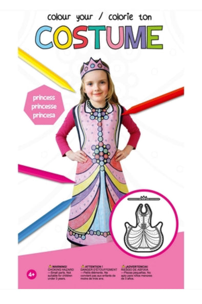 Colour Your Own Costume!