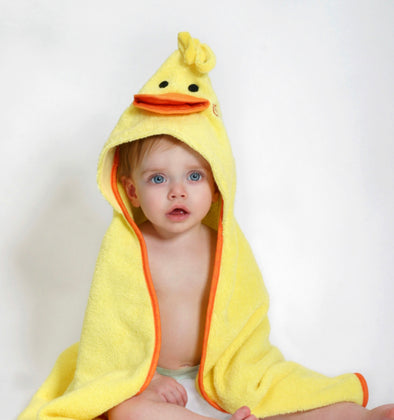 Puddles the Duck Baby Towel