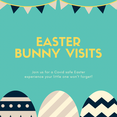 Easter Bunny Visits - Indoor- April 3rd