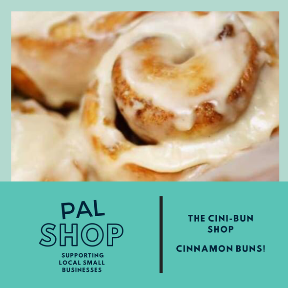 4-pack Cinnamon Buns- pick up July 11th.