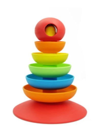Bioserie 2 in 1 Rainbow Stacker