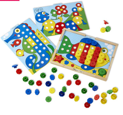 Preorder- Melissa and Doug- Sort and Snap Colour Match