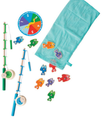Melissa and Doug - Catch and Count Magnetic Fishing Rod Set