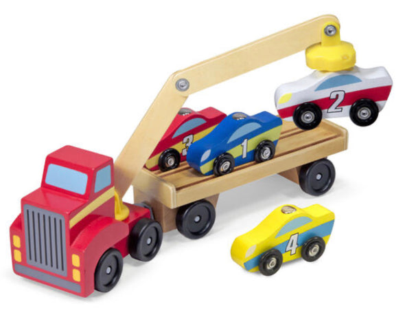 Melissa and Doug- Magnetic Car Loader